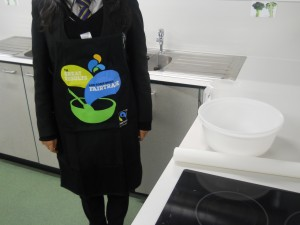 Fairtrade branded apron