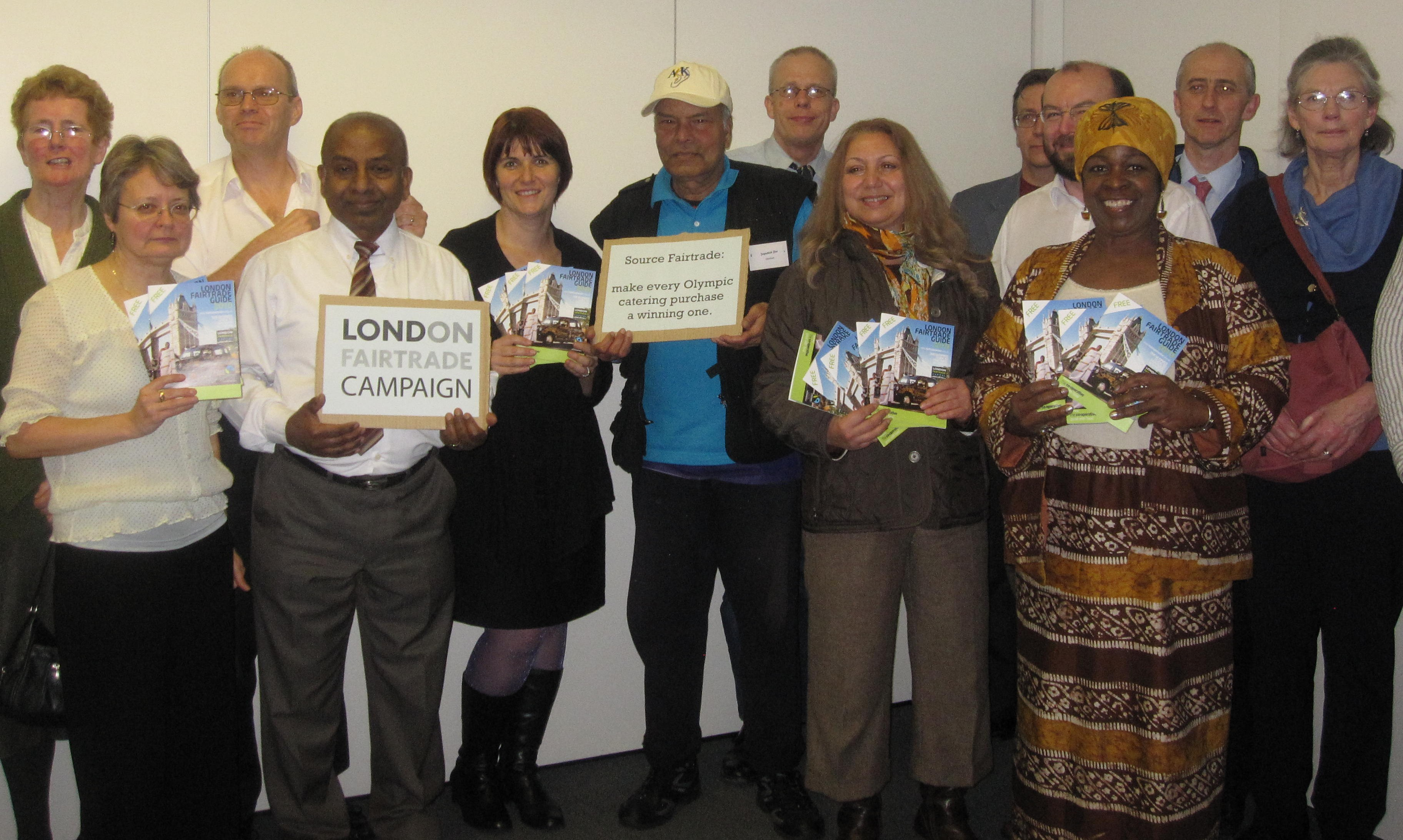 Campaigners at London Supporter Conference at City Hall